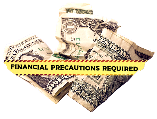 Sellers don't take the proper financial precautions.